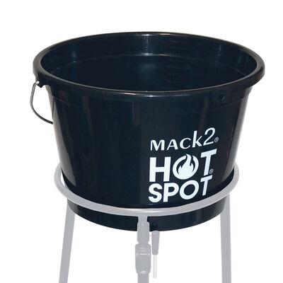 Seau carpe mack2 hot spot round bucket 18 l - Seaux | Pacific Pêche