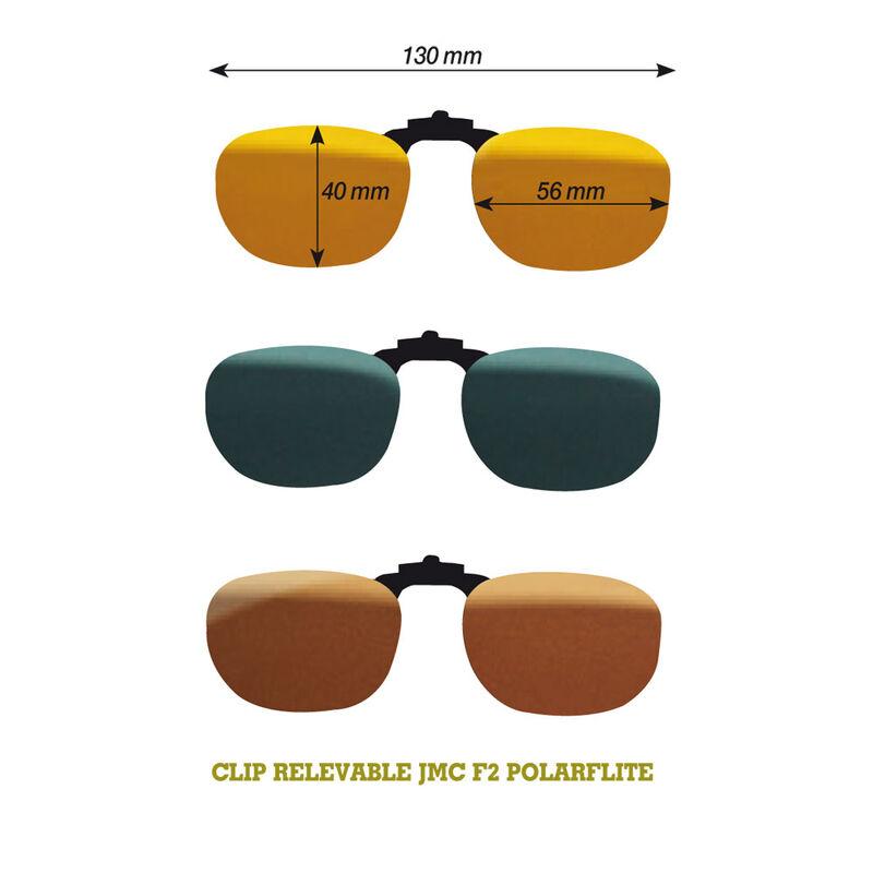 Lunettes polarisantes jmc clip relevable f2 / polarflite - Clips | Pacific Pêche