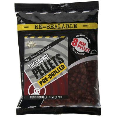 Pellets carpe dynamite baits source pre-drilled 350g - Amorçages | Pacific Pêche