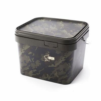 Seau carpe nash rectangular bucket 5l - Seaux | Pacific Pêche