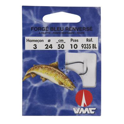 Hameçons montés truite waterqueen bleu renversé 9335i (x10) - Hameçons montés | Pacific Pêche