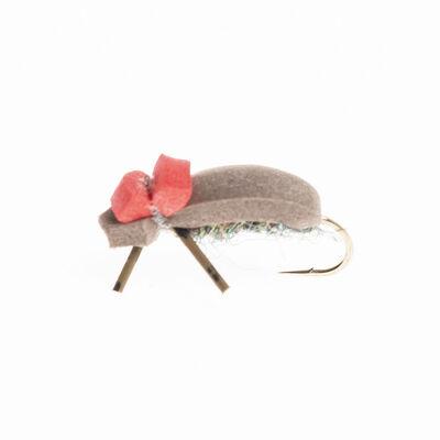 Mouche sèche silverstone scarabé beige h12 (x3) - Sèches | Pacific Pêche