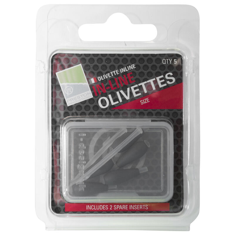Olivettes coup preston inline olivettes (x4 ou x5) - Olivettes | Pacific Pêche
