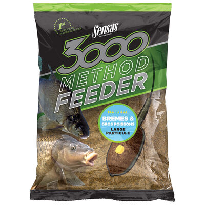 Amorce coup sensas 3000 method feeder bremes & gros poissons 1kg - Amorces | Pacific Pêche
