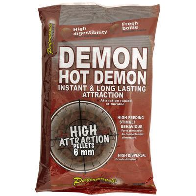 Pellets d'amorçages carpe performance concept hot demon - Amorçages | Pacific Pêche