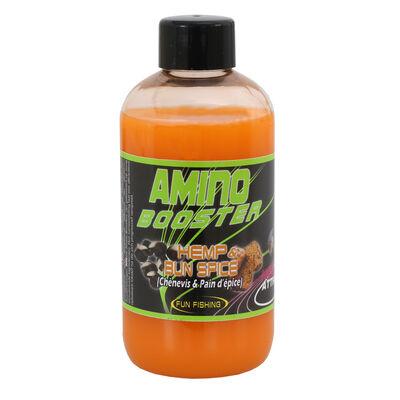 Additif liquide coup fun fishing amino booster hemp and bun spice 185ml - Additifs | Pacific Pêche