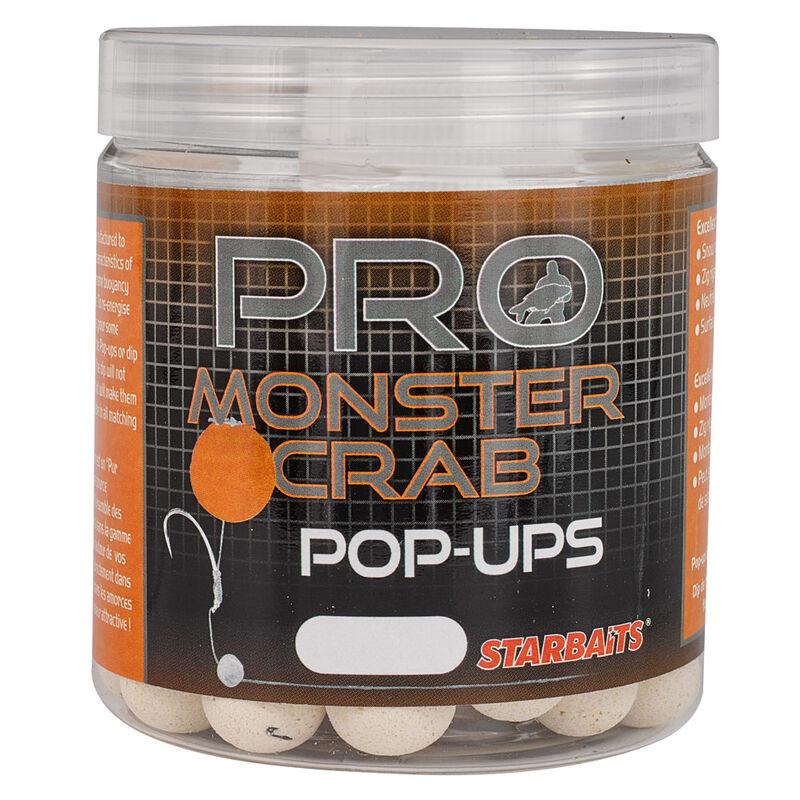 Bouillettes flottantes carpe probiotic monstercrab popup 60g - Flottantes | Pacific Pêche