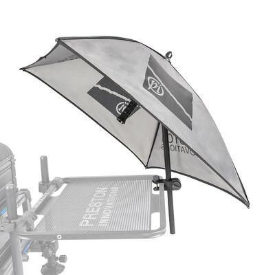 Parasol preston offbox grey bait brolly - Parapluies | Pacific Pêche