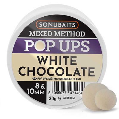 Mixe de bouillettes sonubaits method white chocolat blanc - Eschage | Pacific Pêche