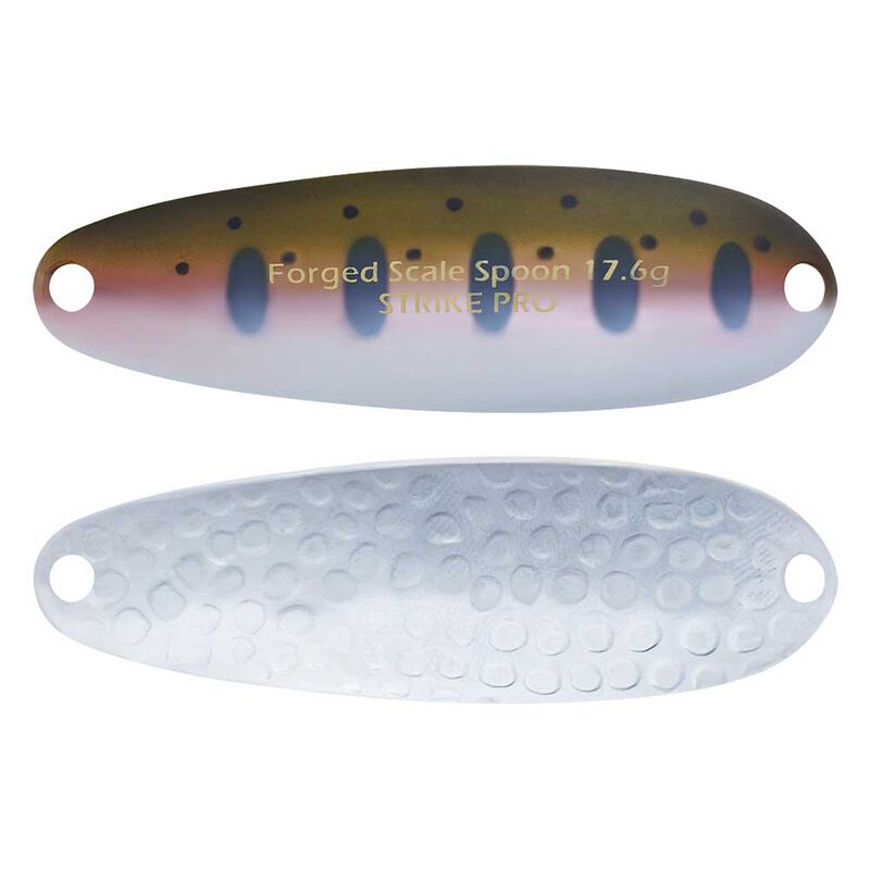 Cuillère ondulante carnassier strike pro forged scale spoon 3.7cm 5.8g - Cuillères ondulantes | Pacific Pêche