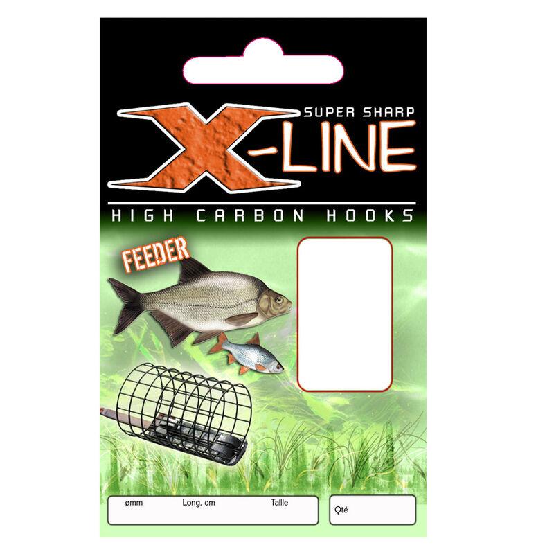 Hameçons montés coup x line feeder (x10) - Hameçons Montés | Pacific Pêche