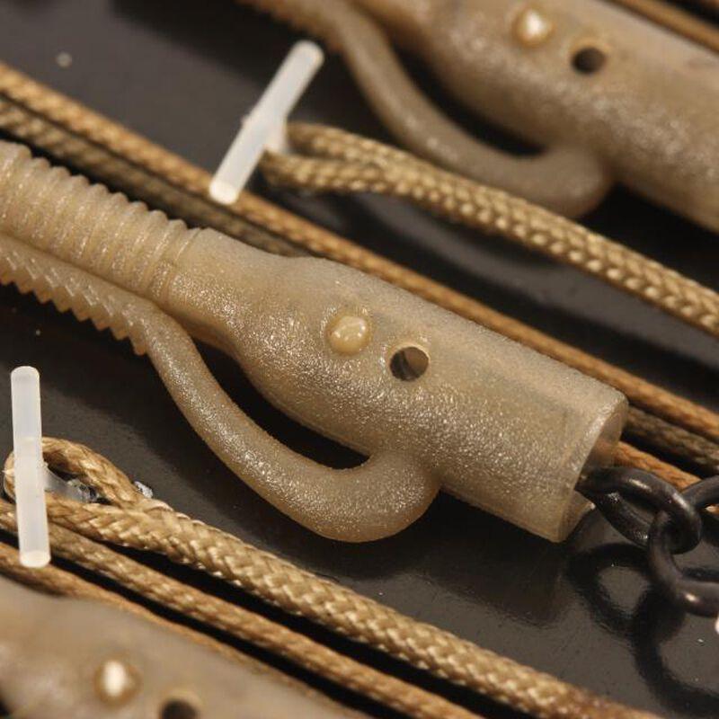 Leader carpe korda leadcore lead clip - 3 par pack - 1m - Kit Montage Complet | Pacific Pêche