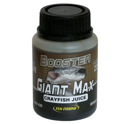 Booster carpe fun fishing giant max crayfish juice - 200ml - Boosters / dips | Pacific Pêche