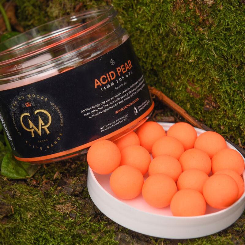 Bouillettes flottantes carpe cc moore elite pop acid pear drop orange - Flottantes | Pacific Pêche