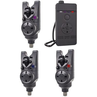 Pack 3 détecteurs carpe siren s5r nash - Packs | Pacific Pêche