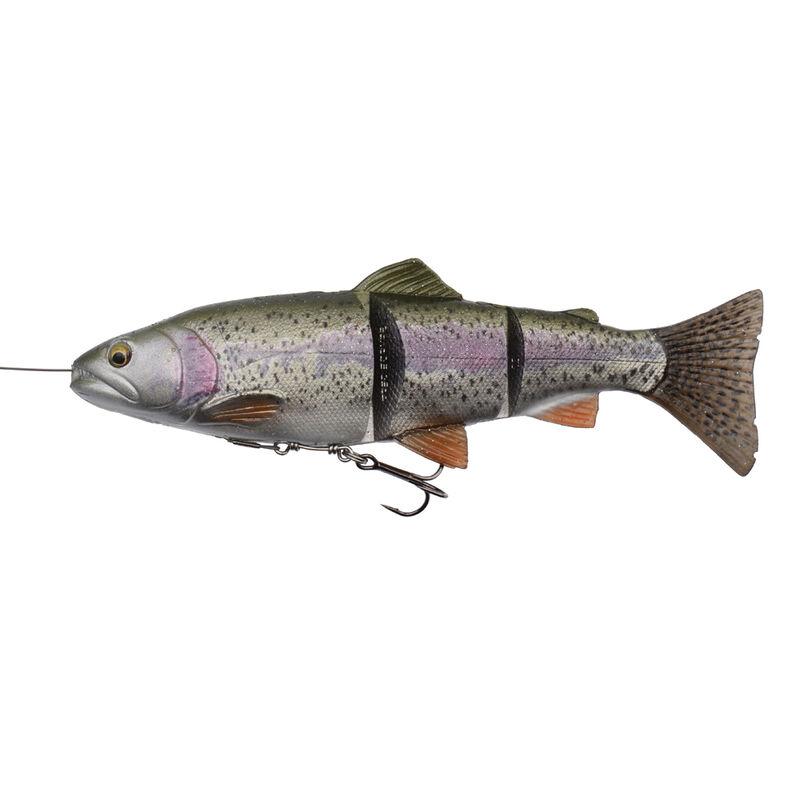 Leurre souple swimbait carnassier savage gear 4d line thru trout slow sink 15cm 35g - Swimbaits | Pacific Pêche