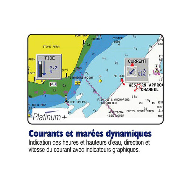 Cartographie navigation navionics platinium plus xl3 sd - Acc. Electonique | Pacific Pêche