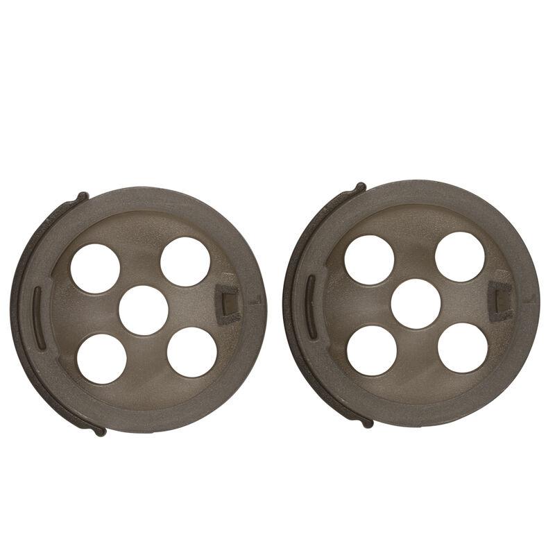 Couvercles perforés coup guru sprinkle lids (x2) - Cages feeder | Pacific Pêche