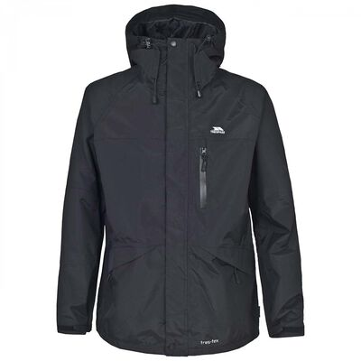 Veste impermeable homme trespass corvo jacket black - Vente privée | Pacific Pêche