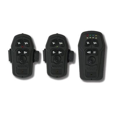 Coffret détection silure madcat smart alarm set 2 détecteurs +1 centrale rouge / vert - Coffrets | Pacific Pêche