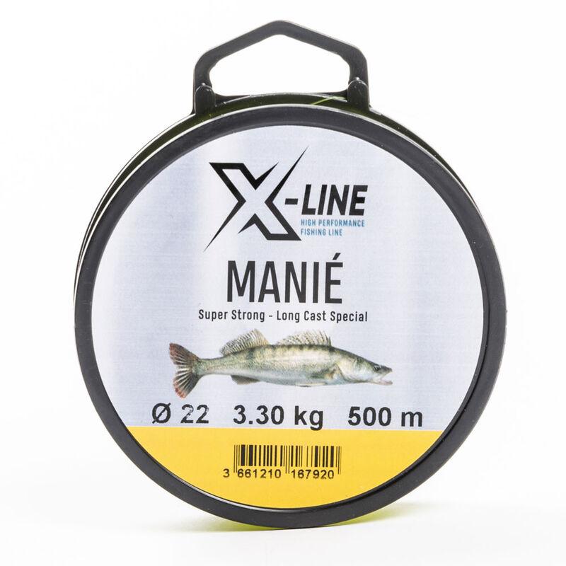 Nylon carnassier x-line manié 500m - Nylons   Pacific Pêche