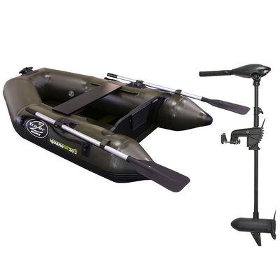 Pack bateau frazer iguane sr 200 + moteur frazer 40lbs - Pneumatiques | Pacific Pêche