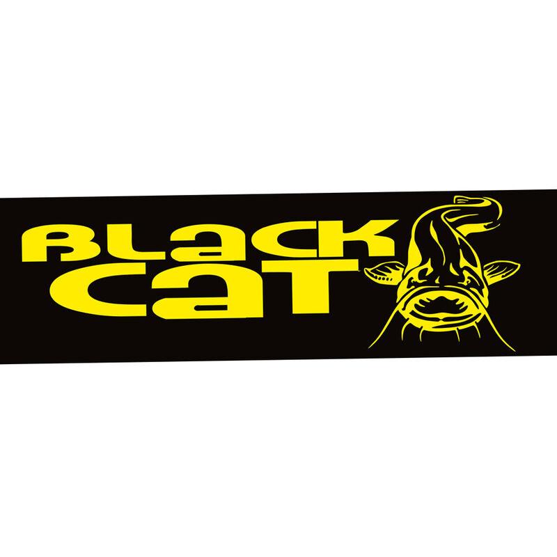 Autocollant silure black cat 50x20cm - Goodies/Gadgets | Pacific Pêche