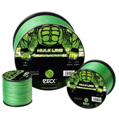 Tresse silure zeck hulk line 8 brins 0.60mm 320m - Tresses | Pacific Pêche