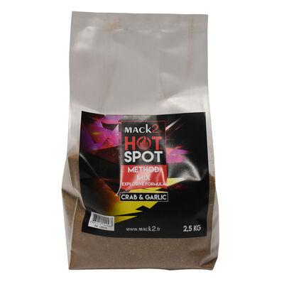 Method mix carpe mack2 hot spot crab and garlic 2.5kg - Methods Mix | Pacific Pêche
