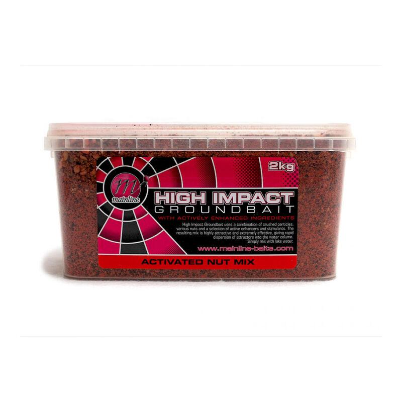 Method mix carpe mainline activ nut mix groundbait - Methods Mix | Pacific Pêche