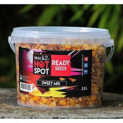 Graines cuites hot spot ready made sweet mix 2.3l - Prêtes à l'emploi | Pacific Pêche