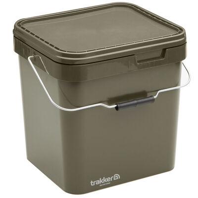 Seau carpe trakker olive container 17l - Seaux | Pacific Pêche