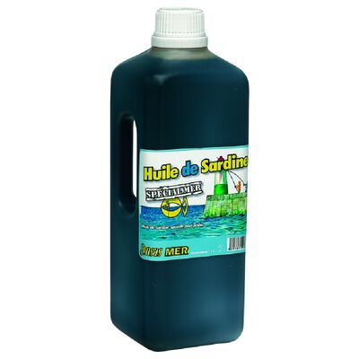 Attractant mer sensas huile de sardine sup.1 litre - Amorce | Pacific Pêche