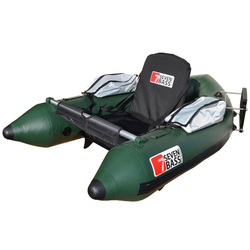 Float tube navigation seven bass skullway 1.70m vert - Floats Tube | Pacific Pêche
