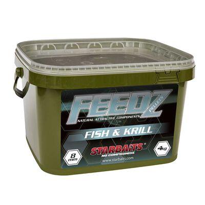 Pellets starbaits feedz fish & krill pellets mix - Amorçages | Pacific Pêche