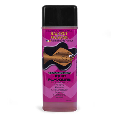 Arôme liquide sonubaits halibut flavour 250ml - Additifs | Pacific Pêche