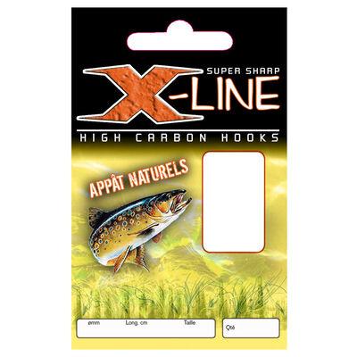 Hameçon monté truite x-line hm appats naturels (x10) - Hameçons montés | Pacific Pêche