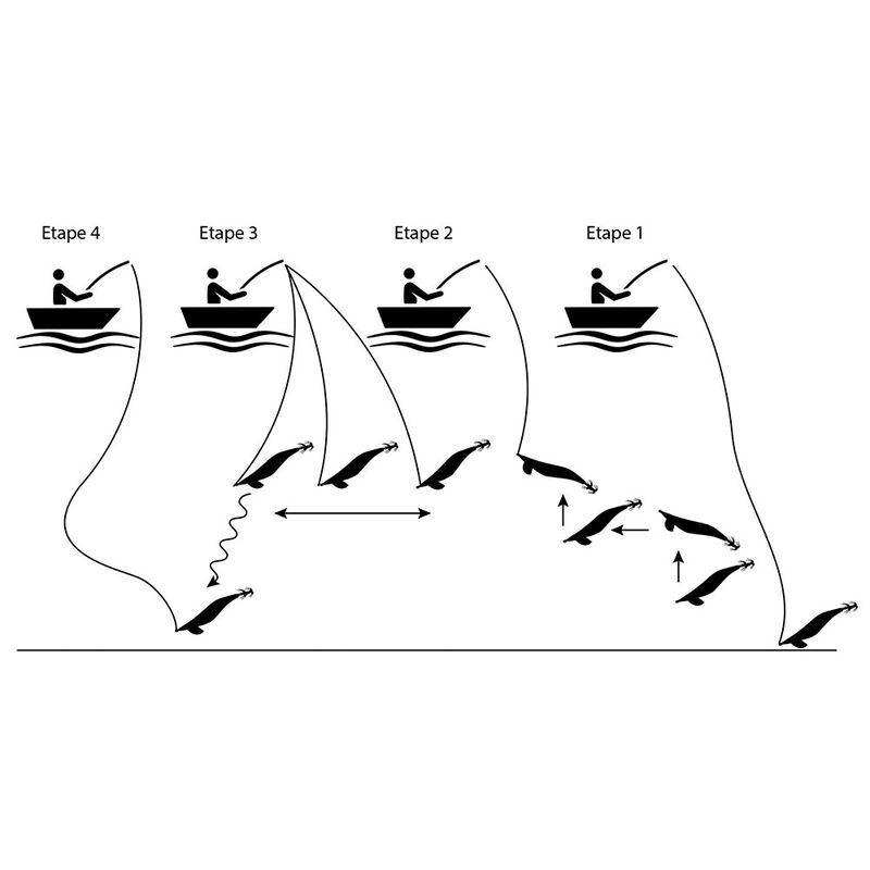 Turlutte pro-hunter egiking df dragonfish 2.5 - Turluttes | Pacific Pêche