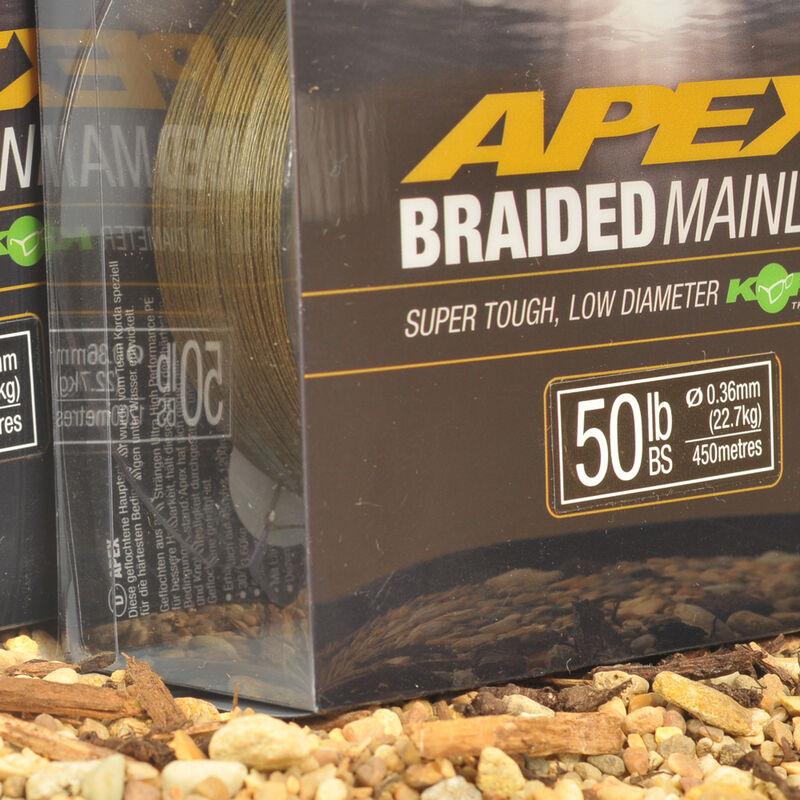 Tresse carpe korda apex braided mainline 450m - Tresse   Pacific Pêche