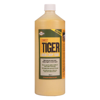 Booster carpe dynamite baits sweet tiger liquid carp food 1 litre - Boosters / dips   Pacific Pêche