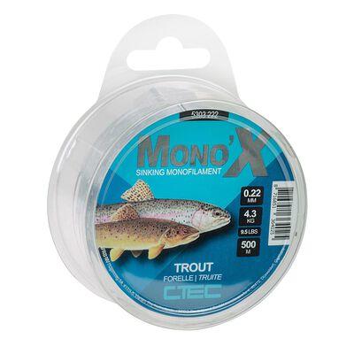 Nylon ctec trout clear 500m - Fils-nylons | Pacific Pêche