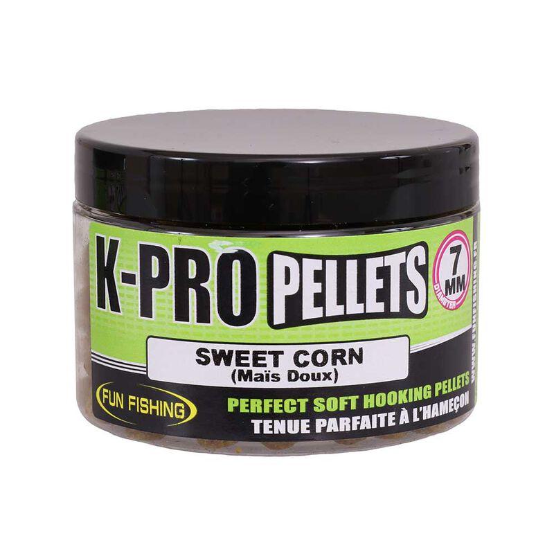 Pellet d'eschage funfishing k-pro sweet corn (mais doux) 60g - Eschage | Pacific Pêche