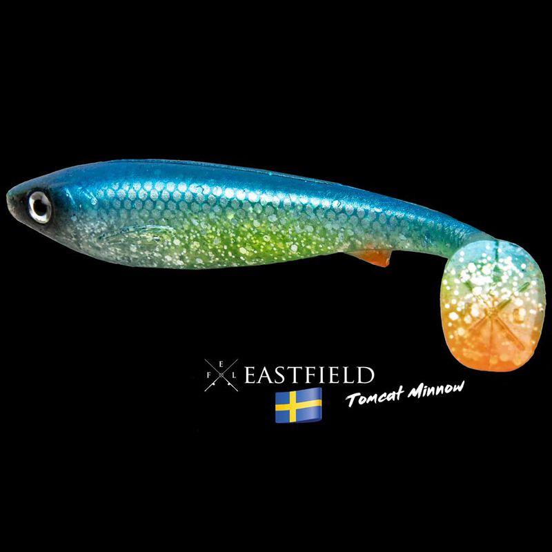 Leurre souple shad carnassier eastfield tomcat minnow 10cm 7,5g (x5) - Leurres shads | Pacific Pêche