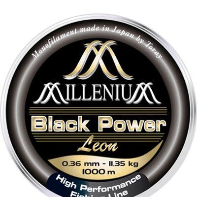 Nylon carpe leon hoogendijk millenium black power noir 1000m - Monofilament | Pacific Pêche