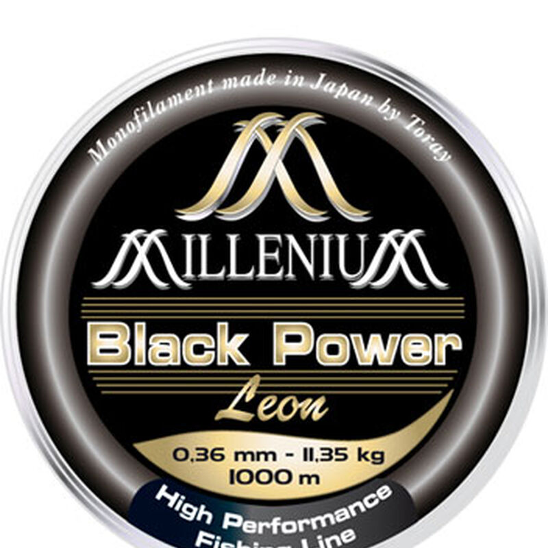 Nylon carpe leon hoogendijk millenium black power noir 1000m - Monofilament | Pacific Pêche