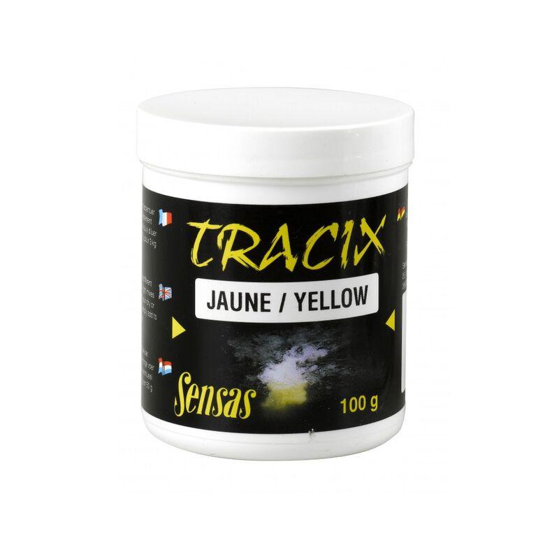 Additif spécial amorces sensas tracix jaune 100g - Additifs   Pacific Pêche