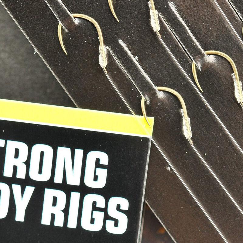 Hameçons montés coup guru xtra strong carp pole rigs 15cm (x8) - Hameçons Montés | Pacific Pêche