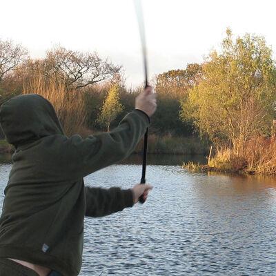 Manche additionnel pour lance bouillette carpe nash deliverance long range throwing handle - Lances Bouillettes | Pacific Pêche