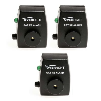 Pack de 3 détecteurs silure overfight cat xr alarm - Packs | Pacific Pêche