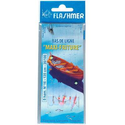 Bas de ligne mer flashmer maxi friture - Bas de Lignes / Lignes Montées | Pacific Pêche